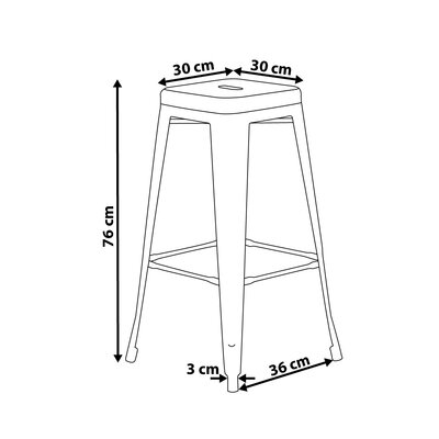 Cabrillo Bar Stool