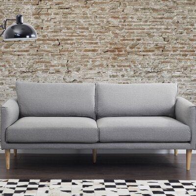 Pasala 3 Seater Standard Sofa Upholstery: Light Gray