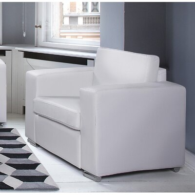 Lacasse Armchair Upholstery : White