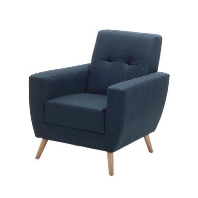 Madisyn Armchair Upholstery: Dark Blue