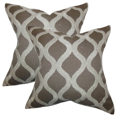 Rhem Geometric Cotton Throw Pillow