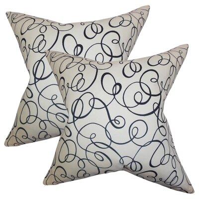Buccigross Spiral Cotton Throw Pillow