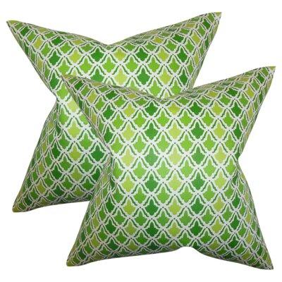 Shaniko Geometric Cotton Throw Pillow