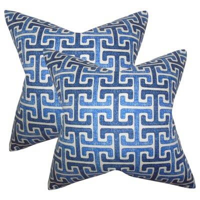 Shukla Geometric Cotton Throw Pillow