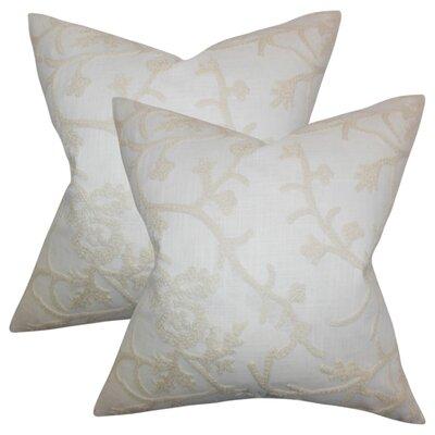 Beldale Snowflakes Cotton Throw Pillow