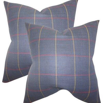 Gittan Plaid Cotton Throw Pillow