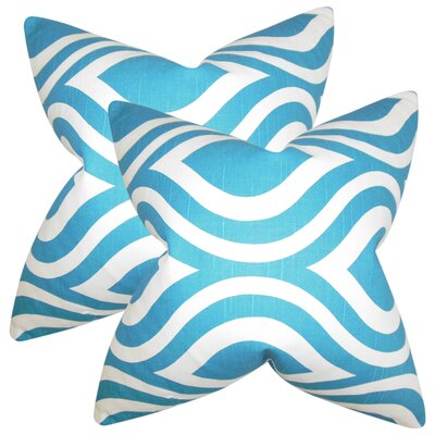 Angeline Geometric Cotton Throw Pillow