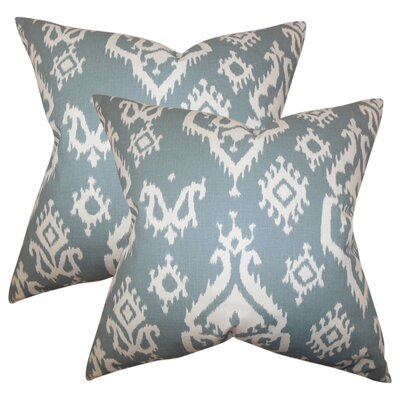 Arnott Ikat Cotton Throw Pillow