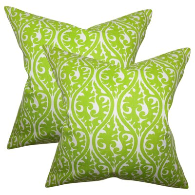 Rapheale Geometric Cotton Throw Pillow
