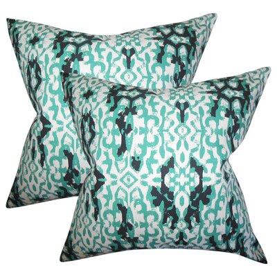 Ballymeade Ikat Cotton Throw Pillow