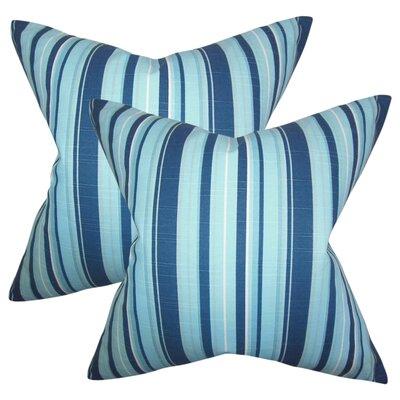 Callen Stripes Cotton Throw Pillow
