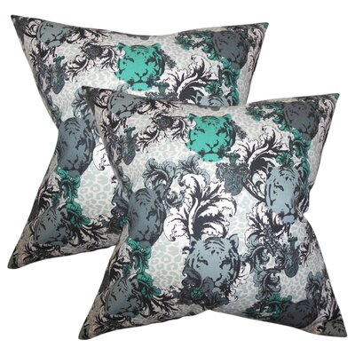 Stultz Floral Cotton Throw Pillow