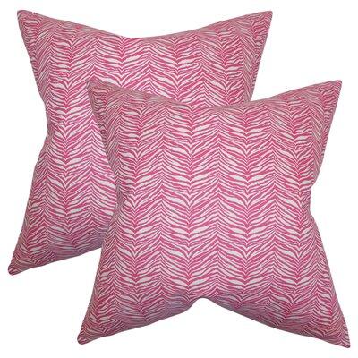Chiltern Zebra Print Cotton Throw Pillow