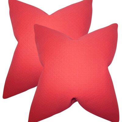 Zenon Solid Cotton Throw Pillow