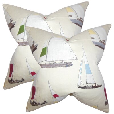 Barbatti Coastal Throw Pillow