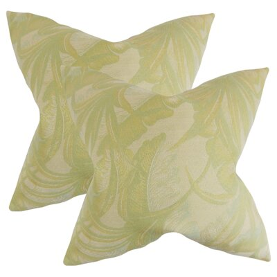 Kourtnee Foliage Throw Pillow
