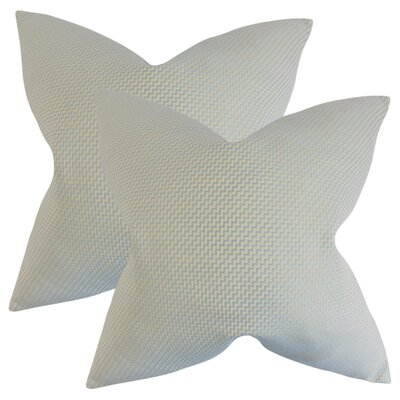 Alyvia Throw Pillow Color: Blue