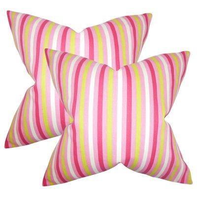 Babcock Stripes Throw Pillow