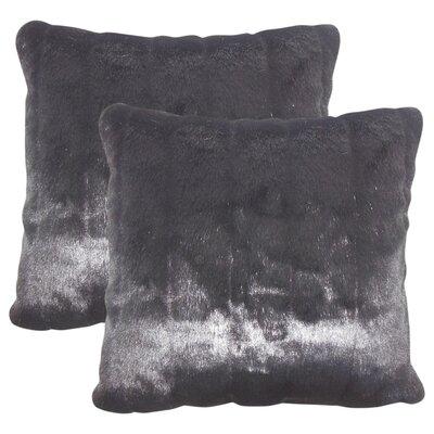 Baylee Faux Fur Throw Pillow