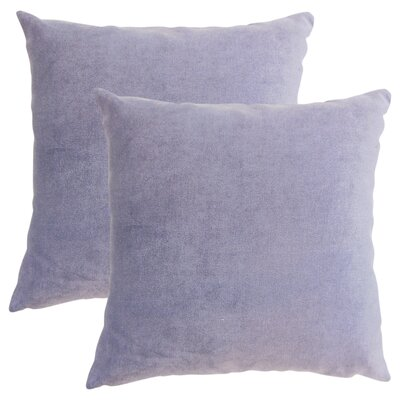 Cariati Solid Throw Pillow Color: Violet