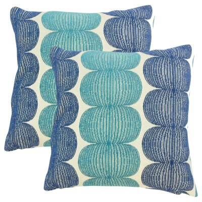 Guss Graphic Throw Pillow Color: Snowcone