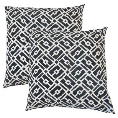 Winston Geometric Cotton Throw Pillow