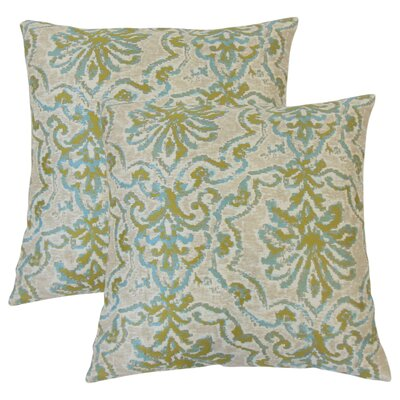 Carlino Damask Throw Pillow