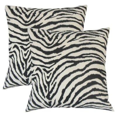 Kayson Animal Print Cotton Throw Pillow