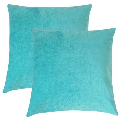 Wooster Solid Cotton Throw Pillow
