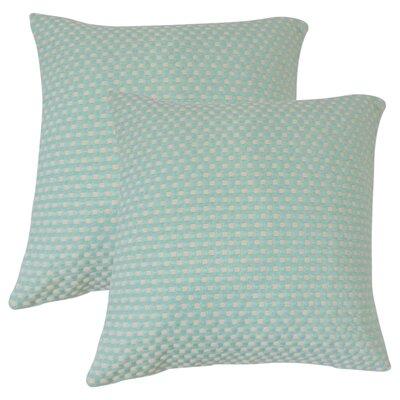 Achilles Woven Cotton Throw Pillow