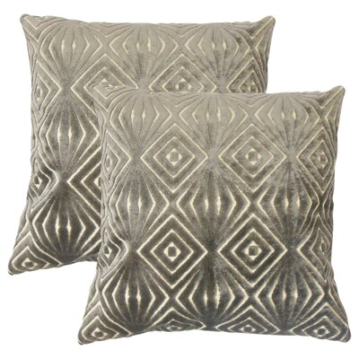 Bargamin Solid Cotton Throw Pillow