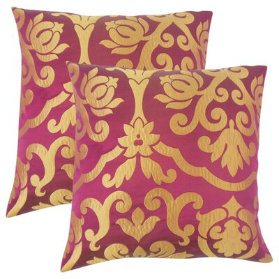 Myla Damask Throw Pillow