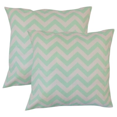 Bailor Zigzag Cotton Throw Pillow