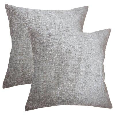 Jalon Solid Cotton Throw Pillow