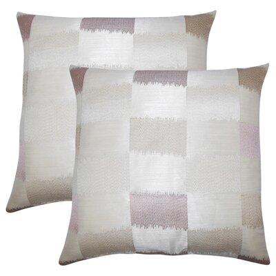 Rowen Geometric Throw Pillow Color: Tan