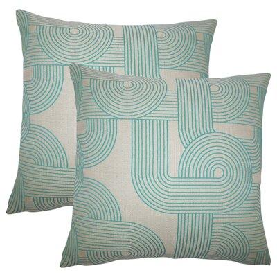 Wyman Geometric Throw Pillow