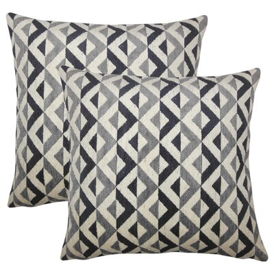 Strine Striped Throw Pillow
