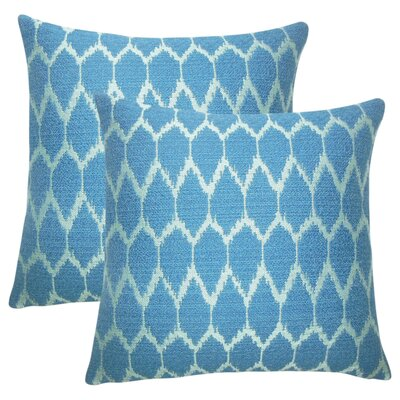 Winland Geometric Cotton Throw Pillow