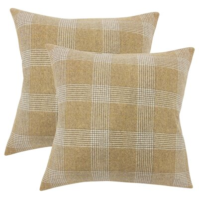 Horsham Plaid Throw Pillow