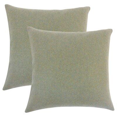 Ambriz Solid Throw Pillow Color: Dark Gray