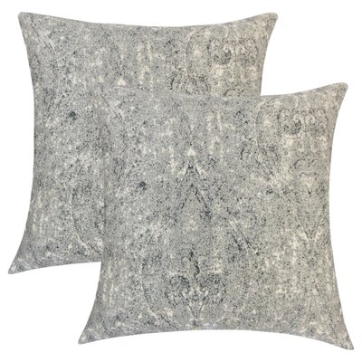Winschoten Graphic Throw Pillow Color: Pewter