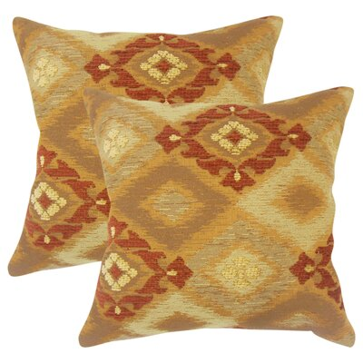 Jame Ikat Throw Pillow