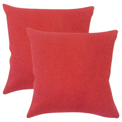 Conder Solid Cotton Throw Pillow