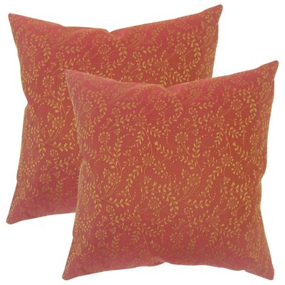 Coughlan Floral Throw Pillow