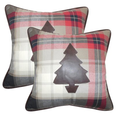 Presson Holiday Cotton Throw Pillow