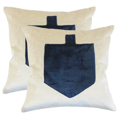 Holiday Square Cotton Throw Pillow