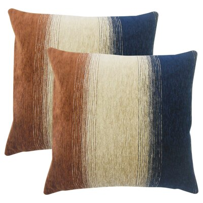 Fitu Ombre Throw Pillow Color: Tan