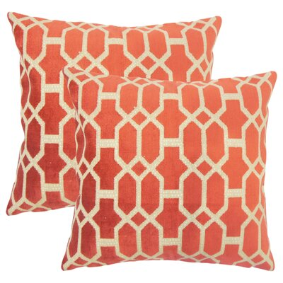Giacomo Geometric Throw Pillow