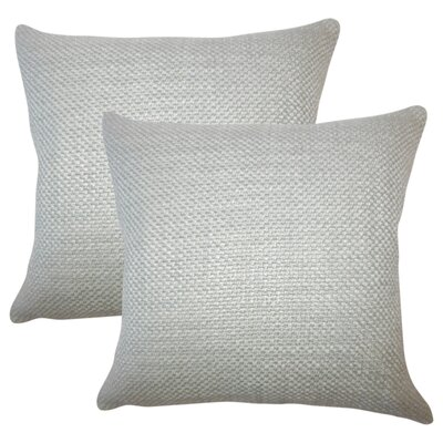 Glade Solid Throw Pillow Color: Gray