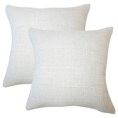 Glade Solid Throw Pillow Color: Oyster